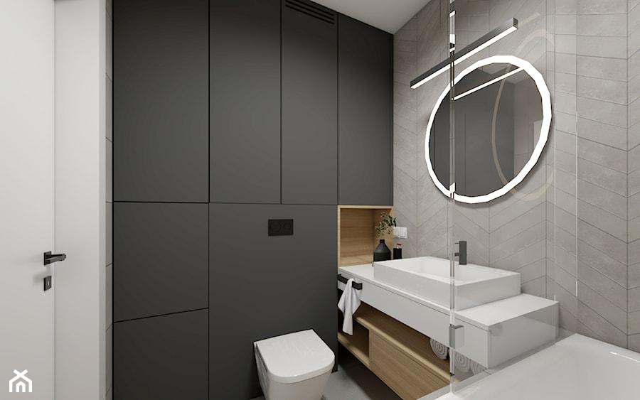 Okrągłe Lustro W łazience Zdjęcie Od Studio Pniak Homebook