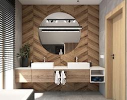 łazienka na poddaszu - zdjęcie od STUDIO PNIAK - Homebook