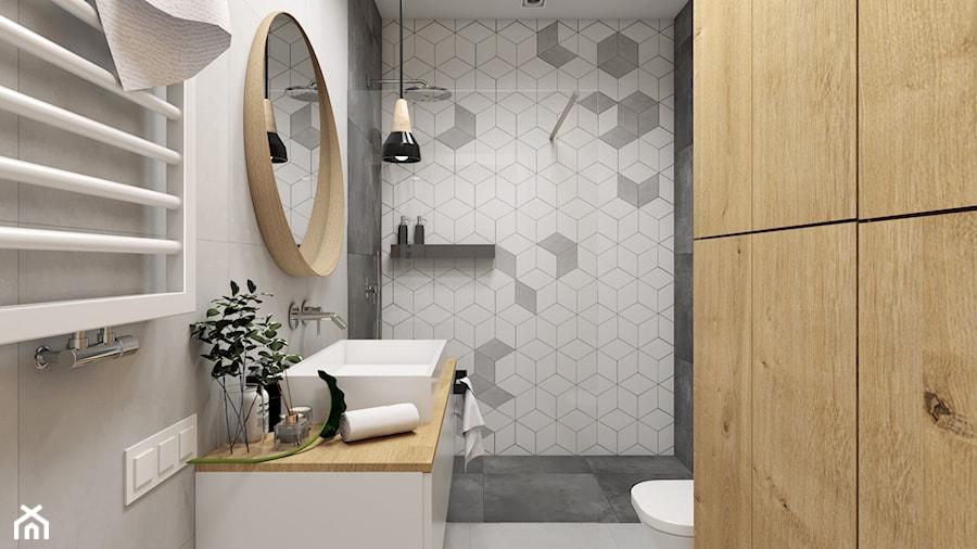 romby w łazience - zdjęcie od STUDIO PNIAK