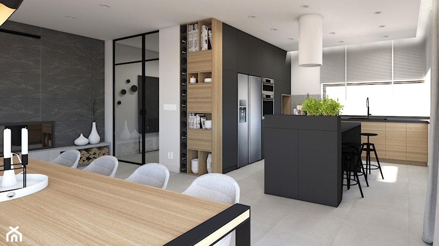 Salon Połączony Z Kuchnią I Jadalnią Zdjęcie Od Studio