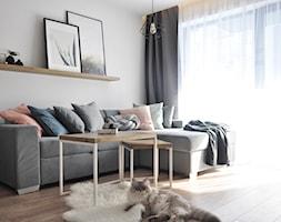 Salon w stylu skandynawskim - zdjęcie od STUDIO PNIAK - Homebook