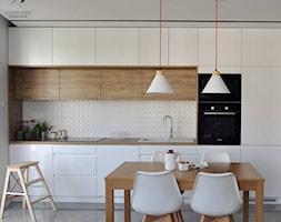 Mieszkanie Kraków,50m2. Realizacja - Jadalnia, styl nowoczesny - zdjęcie od Architekt wnętrz Klaudia Pniak