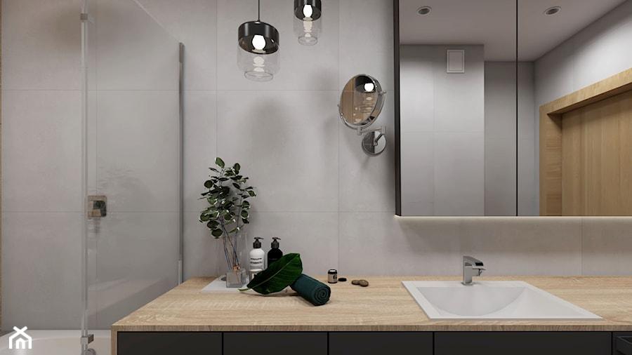 łazienka Z Dużym Blatem Zdjęcie Od Studio Pniak Homebook