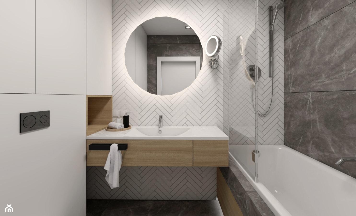 Jodełka w łazience - zdjęcie od STUDIO PNIAK - Homebook