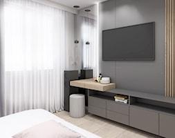 Sypialnia z skosem - zdjęcie od STUDIO PNIAK - Homebook