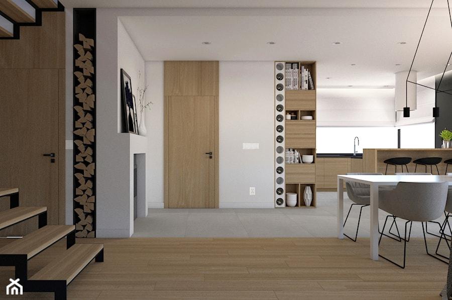 Salon Połączony Z Jadalnią I Kuchnią Zdjęcie Od Studio