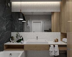 Łazienka biało czarna - zdjęcie od STUDIO PNIAK