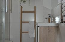 Łazienka styl Skandynawski - zdjęcie od Architekt wnętrz Klaudia Pniak