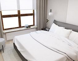 Beżowe wnętrze - Sypialnia, styl nowoczesny - zdjęcie od STUDIO PNIAK - Homebook