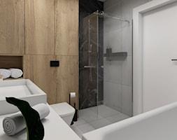 Drewno w łazience - zdjęcie od STUDIO PNIAK