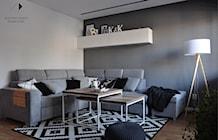 Salon styl Skandynawski - zdjęcie od Architekt wnętrz Klaudia Pniak