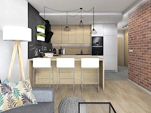 Niskobudżetowe mieszkanie w Krakowie 57m2 wersja 4