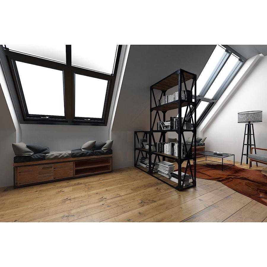 Czarna sypialnia - Średnia biała sypialnia dla gości na ...