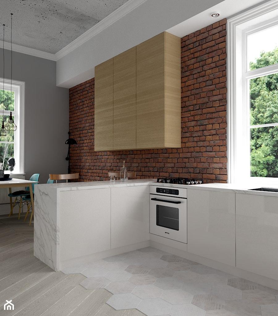 Rewitalizacja krakowskiej kamienicy - Kuchnia, styl nowoczesny - zdjęcie od Projektowanie Wnętrz Krystian Motyl