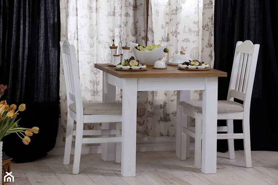 Topnotch Stół i krzesła Roma w stylu retro - zdjęcie od Woodica - homebook UL12