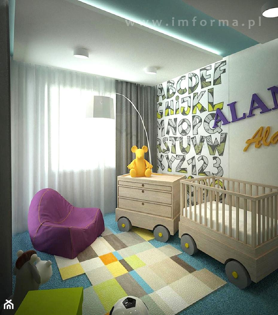 nowoczesny pokój dziecka - zdjęcie od IMFORMA IWONA MARCINIAK - Homebook