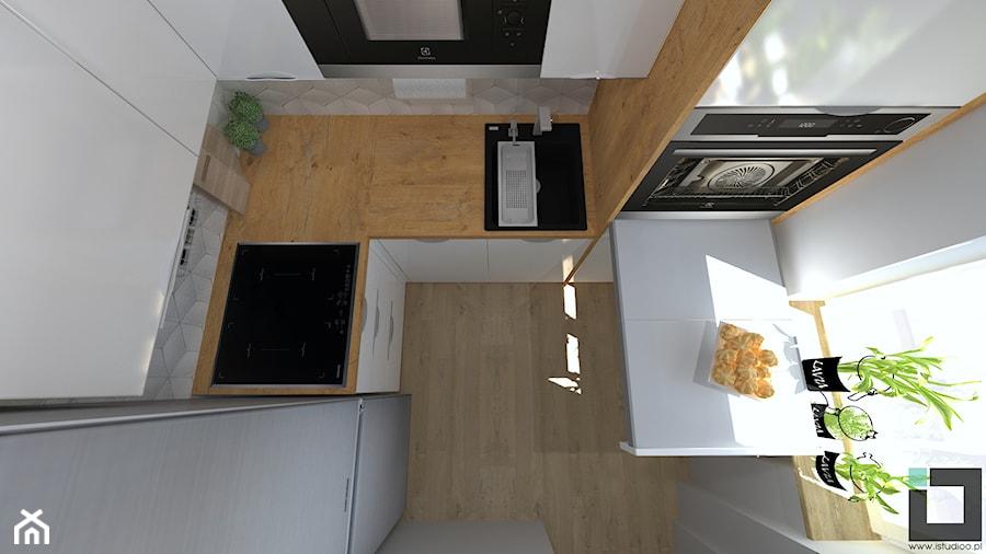 Bardzo Mała Kuchnia W Bloku Zdjęcie Od Istudioo Homebook