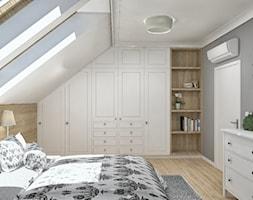 Sypialnia na poddaszu - zdjęcie od iStudioo