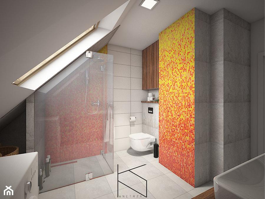 Aranżacje wnętrz - Łazienka: Mieszkanie 58m2, Polkowice - Łazienka, styl nowoczesny - KN.wnętrza. Przeglądaj, dodawaj i zapisuj najlepsze zdjęcia, pomysły i inspiracje designerskie. W bazie mamy już prawie milion fotografii!