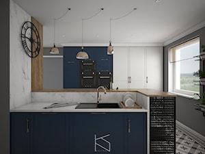 Koncepcyjny projekt kuchni - zdjęcie od KN.wnętrza