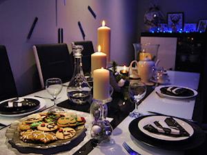 świeczniki z kieliszków - zdjęcie od justynabucz
