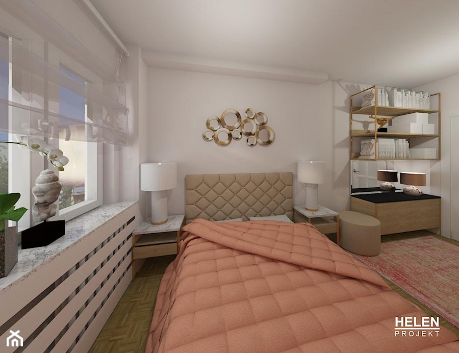 Modernizacja Sypialni W Bloku 10m2 Sypialnia Styl