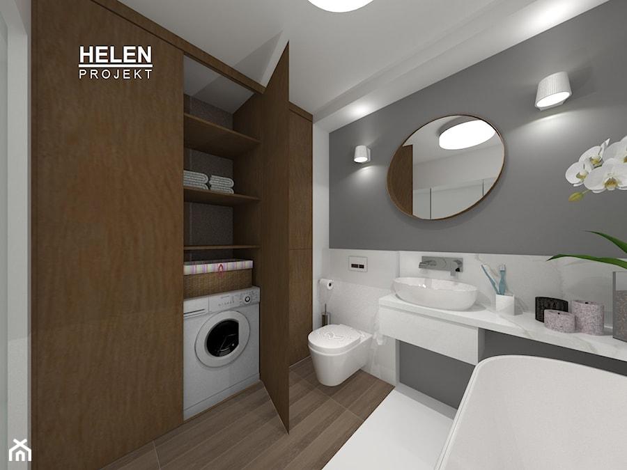 łazienka Z Garderobą średnia łazienka W Bloku W Domu