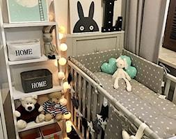 Domek Lalalulu - Mały szary pokój dziecka dla chłopca dla dziewczynki dla niemowlaka, styl skandynawski - zdjęcie od lalalulu