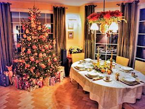 #mojeswieta - Średnia beżowa jadalnia jako osobne pomieszczenie - zdjęcie od Jola.13