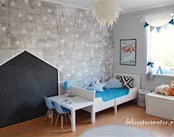 Pokój rodzeństwa - Pokój dziecka, styl skandynawski - zdjęcie od dekoratoramator.pl