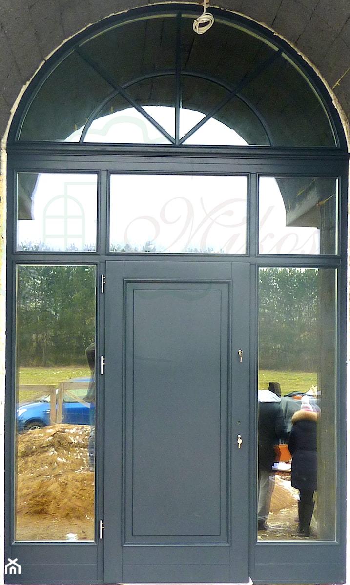 Drzwi Zewnetrzne Drewniane Realizacja Do Projektu Willa