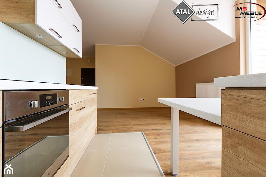 Jasne drewno + biel = )  zdjęcie od MS Meble Małyjurek -> Kuchnia Jasne Drewno