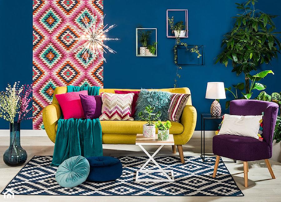 Przytulny salon - Salon, styl eklektyczny - zdjęcie od Salony Agata