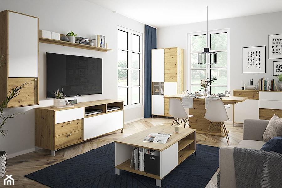 Przytulny salon - Salon, styl skandynawski - zdjęcie od Salony Agata
