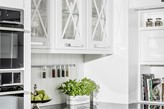 białe fronty w kuchni