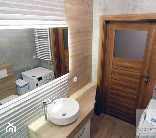 łazienki Bagry Park Mała łazienka Styl Nowoczesny