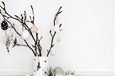 dekoracja wielkanocna w wazonie
