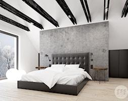 Sypialnia z ukrytą garderobą. - zdjęcie od 365 Stopni
