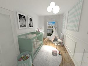Pokój Dziecka MINT/ROSE www.mpolonska.pl - zdjęcie od Magdalena Połońska