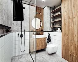 #24 Mieszkanie w Warszawie - Łazienka, styl industrialny - zdjęcie od BOLD Design - Homebook