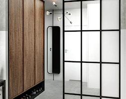 #24 Mieszkanie w Warszawie - Hol / przedpokój, styl industrialny - zdjęcie od BOLD Design - Homebook