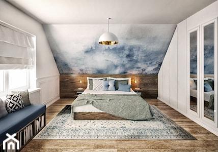 Sypialnia na poddaszu ze skosami – jak ją urządzić?