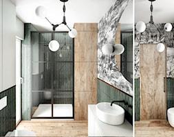 #23 Dom wczasowy w Karpaczu - Łazienka, styl skandynawski - zdjęcie od BOLD Design - Homebook