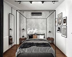 #24 Mieszkanie w Warszawie - Sypialnia, styl industrialny - zdjęcie od BOLD Design - Homebook