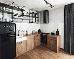 #24 Mieszkanie w Warszawie - Kuchnia, styl industrialny - zdjęcie od BOLD Design - Homebook