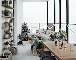 #24 Mieszkanie w Warszawie - Taras, styl skandynawski - zdjęcie od BOLD Design - Homebook