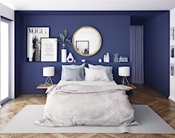 Niebieska Sypialnia Aranżacje Pomysły Inspiracje Homebook