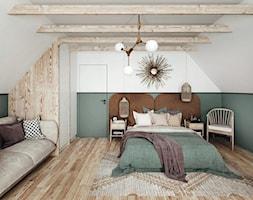 #23 Dom wczasowy w Karpaczu - Sypialnia, styl skandynawski - zdjęcie od BOLD Design - Homebook