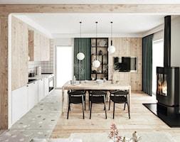 #23 Dom wczasowy w Karpaczu - Kuchnia, styl skandynawski - zdjęcie od BOLD Design - Homebook