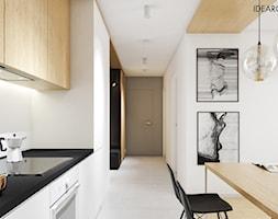 Na krakowskim Podgórzu - Projekt wnętrz mieszkania - zdjęcie od IDEAROOM studio